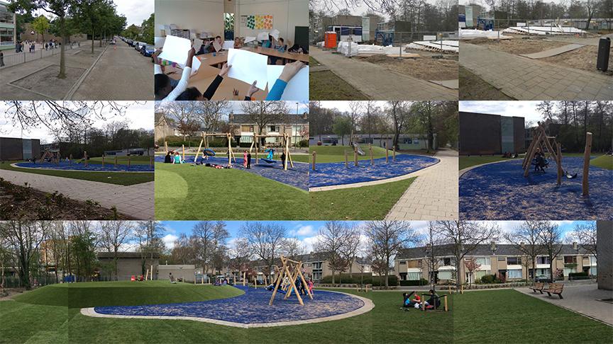 Overzicht ontwikkeling Speelplek Aalreep, Hoogvliet. april 2015